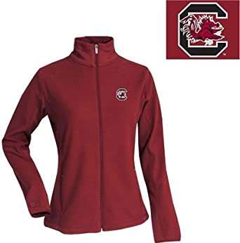 NCAA South Carolina Gamecocks Sleet Polar Fleece Ladies by Antigua