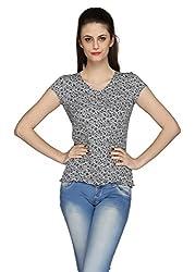 Azores Black Floral Shirt