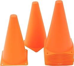 Plastic Cone Sports Training Gear 9-Inch