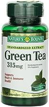 Nature39s Bounty Green Tea Extract 315mg 100 Capsules