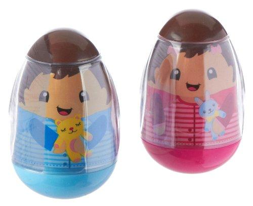 Playskool Weebles Twins Girls & Boy Kids 2 Pack