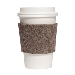 Felt Cup Sleeve -Natural