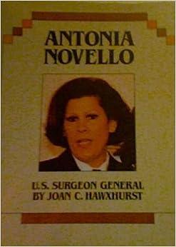 Antonia Novello Accomplishments