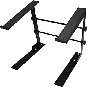 Ultimate Support JSLPT100 Multi-Purpose Laptop/DJ Stand with Stand Alone Base