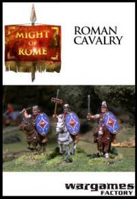 Wargames Factory: Roman Auxiliary Cavalry (12)