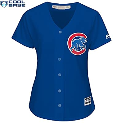 Kris Bryant Chicago Cubs #17 MLB Women's Cool Base Alternate Jersey Blue