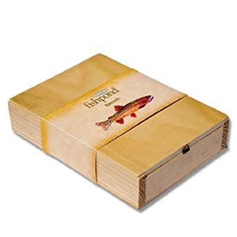 Fishpond Fishing Notecards in Wooden Box