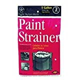 Trimaco 11523 Regular Mesh Elastic Top Bag Paint Strainer, 2-Pack