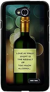PrintVisa 2D-LGL70-D8061 Quotes Funny Love Case Cover for LG L70