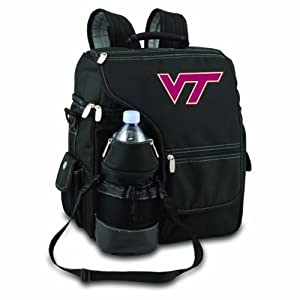 NCAA Virginia Tech Hokies Turismo Insulated Backpack Cooler by Picnic Time