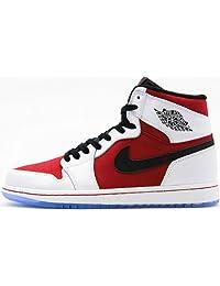 Nike Air Jordan 1 Retro High OG Men's Shoes White/Carmine/Black 555088-123 (SIZE: 11)