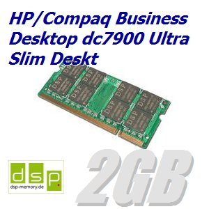 2GB Speicher / RAM für HP/Compaq Business Desktop dc7900 Ultra Slim Deskt