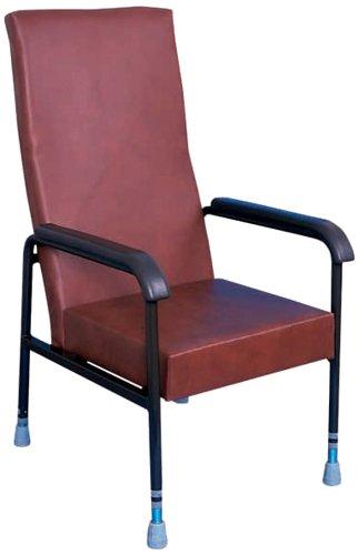 Aidapt Longfield Height Adjustable Chair Burgundy