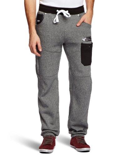 Voi Maebashijg13 Loose Men's Trousers Salt/Pepper Marl XX-Large