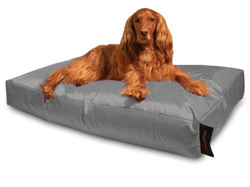 Dogstyle-Hundekissen-aus-Nylon-wasserabweisend-und-schmutzabweisend-Gre-XL-140-x-100-cm-Farbe-Grau