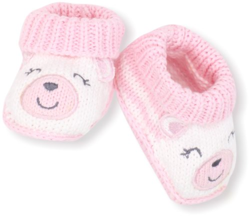 Carter s Hosiery Baby girls Newborn Bear Crochet Booties