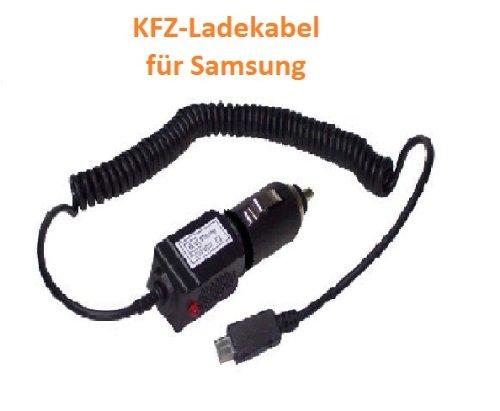 1 X Kfz-Ladekabel Autoladekabel Ladegerät für SAMSUNG 735, B2710, B3210, B3310, B5310, B7300, B7330, B7610, B7620, B7722, C3300, C3500, C3530, G810, i5500, i5510, i5700, i5800, i7500, i8000, i8510, i8700, i8910 HD, i9000, i9003, i9010, i9023, i9100, M6710, M7500, M7600, M8910, S3350, S3370, S3550, S3850, S5150, S5250, S5260, S5330, S5350, S5530, S5560, S5570, S5600, S5620, S5660, S5830, S7070, S7220, S7230, S7350, S7550, S8500, S8530, H1, M1, S8000, S8300 - ergonomische Form, mit Überladungsschu