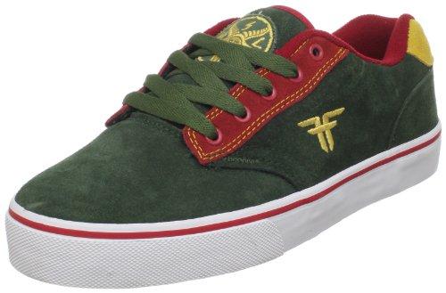 Fallen Men's Slash Skate Shoe,Dark Forest/Red/Gold,8.5 M US
