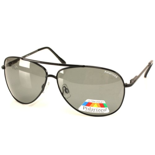 Men's Polarized Aviator Anti Glare Driving Sunglasses