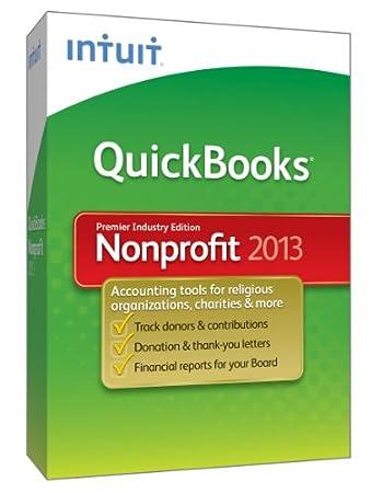 QuickBooks Premier Nonprofit 2013