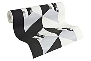 Contzen 4 Euro-roll - material: non woven - colour: white, black, grey