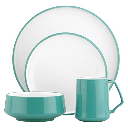 DANSK Kobenstyle 4-Piece Place Setting, Teal
