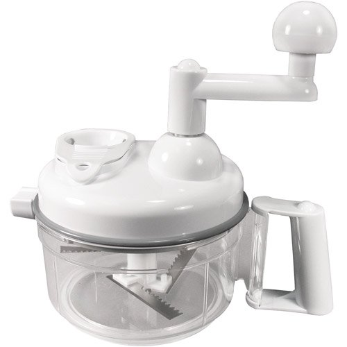 Kitchen Dual Function Chopper Blade, Container, Juicer, Flat Blade Slicer