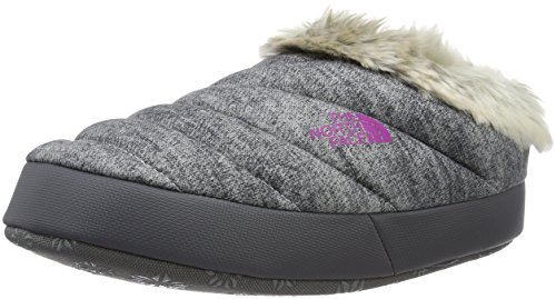 North Face W Nse Tent Mule Faux Fur Ii Pantofole A Collo Basso, Donna, Multicolore (Grigio/Hthrgry/Lmnspnk), 37-39