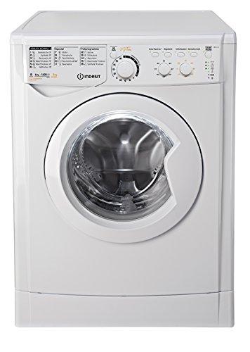 Indesit ewdc 6145W de lave-linge séchant/972kWh/KG/le MyTime?: chaque jour-Programmes de Rapide de Arrêt 1heure/Aqua/Blanc