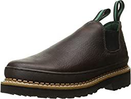 Georgia Giant Men\'s Romeo Slip-On Work Shoe,Brown,10 M