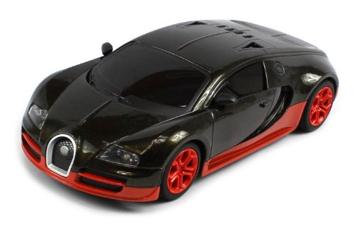 Today Sale Diecast Bugatti Veyron Super Sport Electric RC Car Metal 1:24 RTR (Colors May Vary)  Best Offer