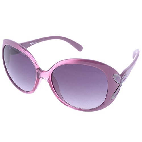 Iris Iris Oversized Pink Sunglasses (Ie268) (Multicolor)