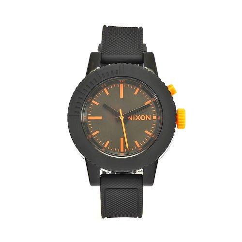 Nixon GoGo Black and Orange Ladies Watch A287583