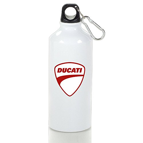 evaly-ducati-red-logo-portable-outdoor-sport-kettle-white-with-carabiner-hook400-600ml-65oz