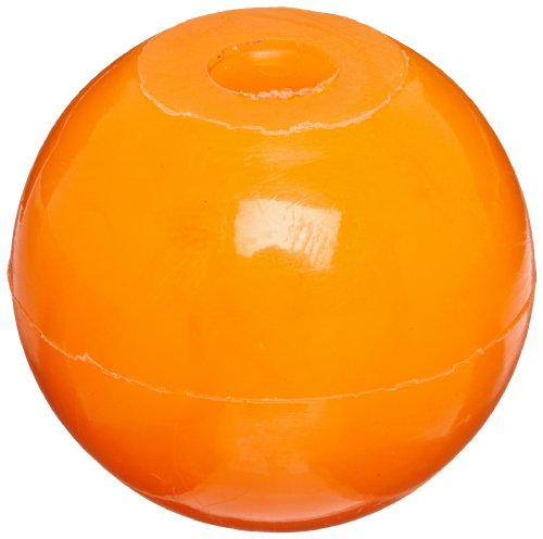 Molecular Models Orange Plastic Halogen Monovalent Atom Center, 20mm Diameter (Pack of 10)
