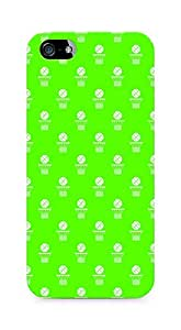 Amez designer printed 3d premium high quality back case cover for Apple iPhone 5s (Volleyball Pattern2)