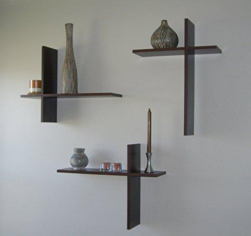 Modern Shelf Floating Shelves Dark Brown Espresso