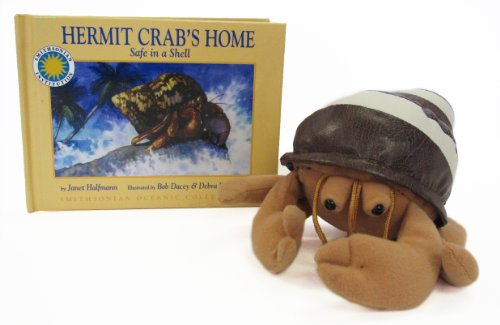 Hermit Crab's Home: Safe in a Shell (Smithsonian Oceanic Collection Book & Toy Set) (Mini book with stuffed toy)