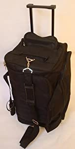 Student Wheeled Holdall Black from Macintyre