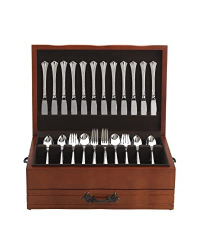 Reed & Barton Provincial Cherry Flatware Chest
