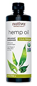 Nutiva Organic Hemp Oil, 24-Ounce Bottle