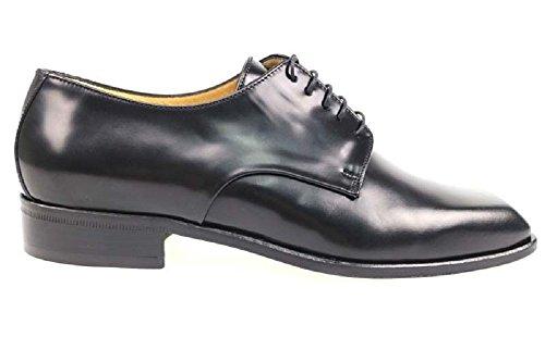 Scarpe uomo CARLO PIGNATELLI classiche nero pelle AP185 (42,5 EU)