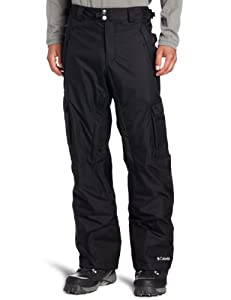 Columbia Men's Ridge 2 Run II Pant, Black, Large-Regular