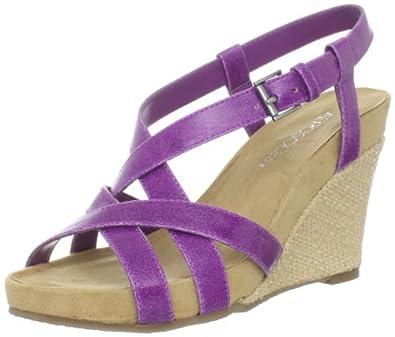 Aerosoles Women's At First Plush Sandal,Purple Combo,6 W US
