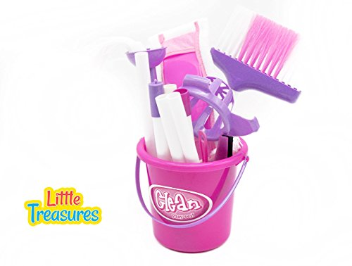 Kids Quality Cleaning Play Set Toy From Little Treasures 226