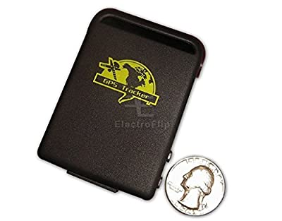 Mini Spy GPS Tracking Listening Device Cell Phone Sim Card Concealed