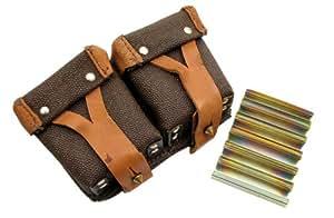 Mosin Nagant 5 Rnd 7.62x54R Stripper Clips & Pouch