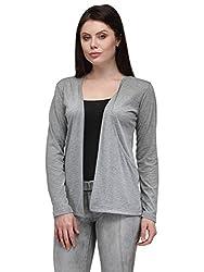 TSX Cotton Women's Grey Shrug