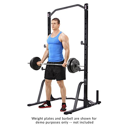 Body Champ Power Rack System W/Band Pegs, black/Gray