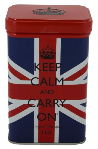 Review Of Keep Calm And Carry On Tea, Union Jack Tin, 40 Bags